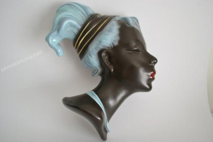 Mid Century wall mask | Kitsch | Scoop.it