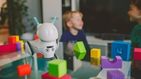 "Alien robot gives kids a ""crash"" course in coding 
