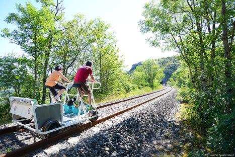 Sortie en famille sur les rails du Larzac | L'info tourisme en Aveyron | Scoop.it