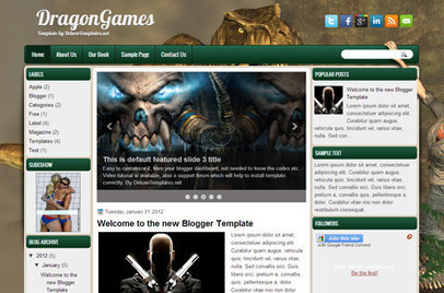 DragonGames   Blogger themes   Scoop.it