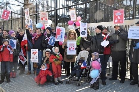 Français de l'étranger : La Manif pour Tous à Varsovie avec le soutien des Polonais | STATION ZEBRA GEOPOLITIQUE | HOLLANDE LA BOHEME...? | Scoop.it