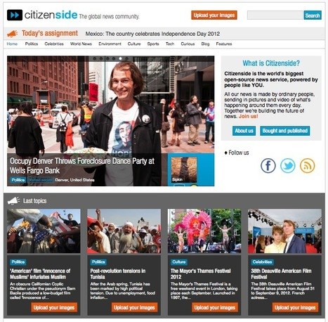 Amateur Reporters Can Contribute and Sell Their News & Photos Online with Citizenside | Online Business Models | Scoop.it