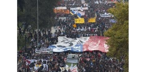 Chili: des milliers d'étudiants dans la rue pour une réforme de l'éducation | L'enseignement dans tous ses états. | Scoop.it