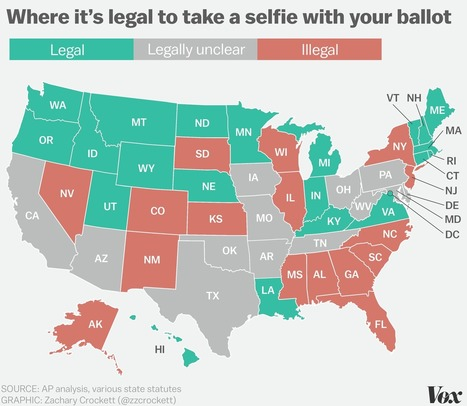 In these states, taking a selfie with your ballot could get you arrested | Nerd Vittles Daily Dump | Scoop.it