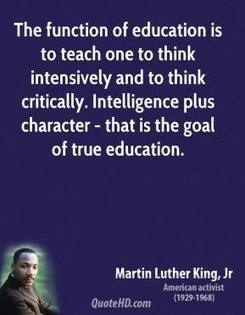 Martin Luther King, Jr. Intelligence Quotes | Learning for all ages | Scoop.it