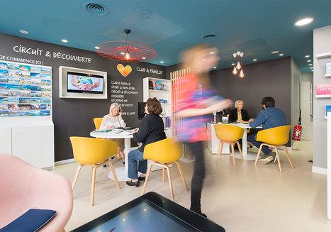 Thomas Cook dévoile son nouveau concept d'agence par l'agence Brio- L'Echo Touristique | Retail Design Review | Scoop.it