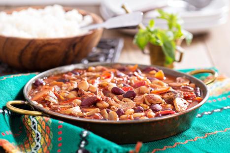 Meatless Black Bean Chili   Trim Down Club   Scoop.it