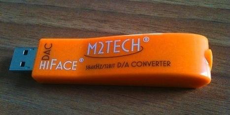 M2Tech : un DAC USB de poche travaillant en ultra haute définition sur 32 bits/384 kHz | M2Tech | Scoop.it