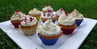 Recette minceur : bouchées de cupcakes - Marie France magazine | Cupcakes en France | Scoop.it