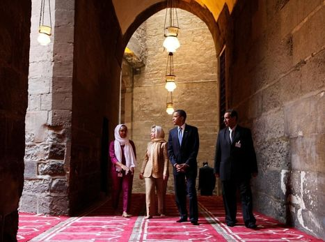 Obama borrows from Bush in first visit to U.S. mosque | Installment Payment Loans | Scoop.it