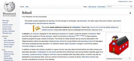 A Teacher's Guide to Wikipedia | Edudemic | Library, ICT, General Teaching Website Resources | Scoop.it