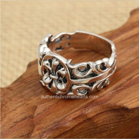 Cheap Chrome Hearts Scout Flower 925 Silver Hollowed-out Rings [Chrome Hearts Rings] - $220.00 : Authentic Chrome Hearts | Chrome Hearts Online | Boutique | Scoop.it