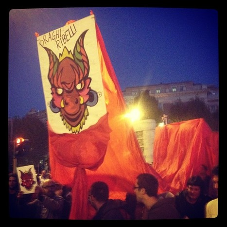 photo | #OccupyItaly -11 novembre - | Scoop.it