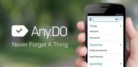 Any.DO To-do List & Task List - Android Apps on Google Play | Apps and Widgets for any use, mostly for education and FREE | Scoop.it