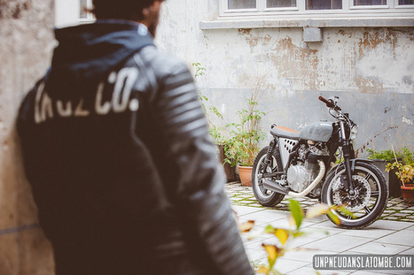 Yamaha XS 400 de Kruz Company [Fr] | Cafe Racers | Scoop.it