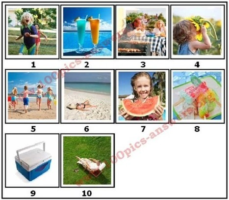 100 Pics Summer Answers | 100 Pics Answers | 100 Pics Quiz Answers | Scoop.it