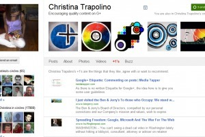 Google+ Help: Profile links, Circles and +1 page   Media Tapper   GooglePlus Expertise   Scoop.it