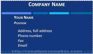 Business Card Templates for Word to Download | Free Printable Template to Download | Scoop.it