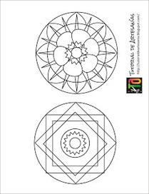Tutorial de Artesanías: Mandalas con CDs | Reciclando un poco! | Scoop.it