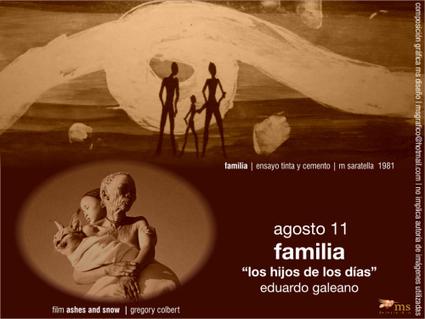FAMILIA. EDUARDO GALEANO* | Formar lectores en un mundo visual | Scoop.it