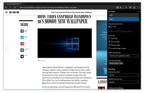 You can finally try Microsoft Edge (Project Spartan) in the newest Windows 10 preview | Content Creation, Curation, Management | Scoop.it