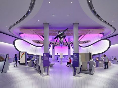 Zaha Hadid Architects' mathematics gallery opens at London Science Museum   Communication design   Scoop.it