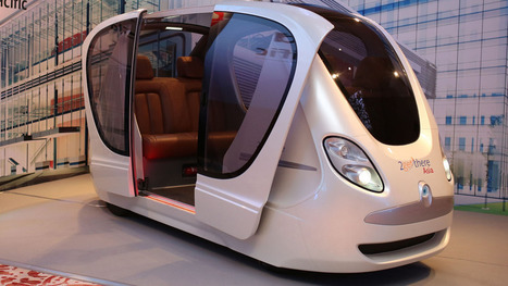 These futuristic driverless pods will run on Singapore's roads by end of the year | Thinking, Learning, and Laughing | Scoop.it