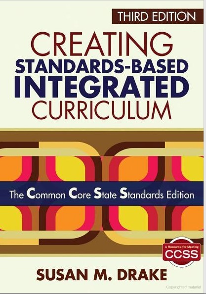 """iEARN featured in 3rd edition of """"Creating Standards-Based Integrated Curriculum"""" by Susan Drake 