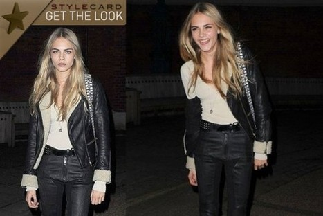 Get The Look: Cara Delevingne | StyleCard Fashion Portal | StyleCard Fashion | Scoop.it