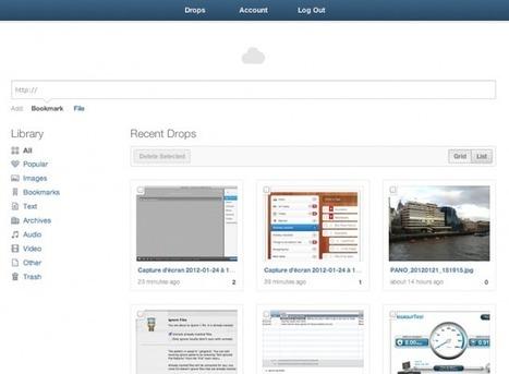 Le partage de fichiers et captures d'écran avec CloudApp | Fredzone | Time to Learn | Scoop.it