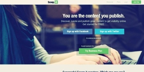 6 Great Content Discovery Tools For Your Social Media Streams | Free Resources for Designer | Scoop.it