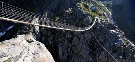En Suisse, un pont pour les vrais aventuriers - Slate.fr | Suisse | Scoop.it