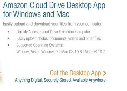 Amazon lanza clientes para Windows y Mac de su Cloud Drive | VIM | Scoop.it