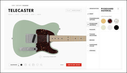 Fender Unveils the Mod Shop | Stratocaster | Scoop.it