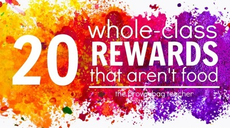 20 Positive Behavior Rewards that Aren't Food   Cool School Ideas   Scoop.it