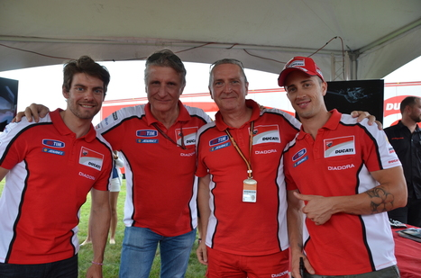 IndyGP - Ducati Team Visits Ducati Indianapolis | Ductalk Ducati News | Scoop.it