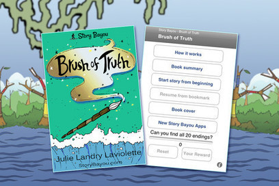 News: Brush of Truth: Book App a 2012 Media of the Year Winner @ The iMums | Apps With Curriculum | Scoop.it