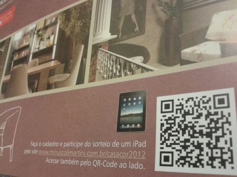 #qrcode de um dos expositores da #CasaCor2012. | QRCoded | Scoop.it