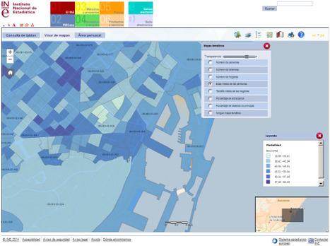 INE : Sistema d'informació del Cens de població 2011 | TIG | Scoop.it