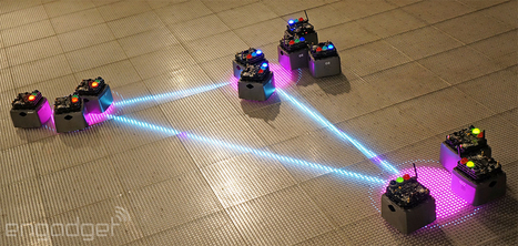 A Robot Swarm descends on NYC's Museum of Math | Robots in Higher Education | Scoop.it