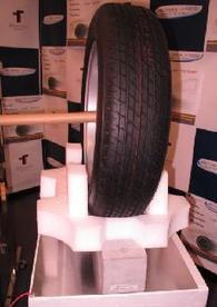 Electricity Transmitted to Auto Tire Through 10cm-thick Concrete -- Tech-On! | An Electric World | Scoop.it