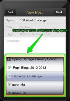 iPads in Primary Education: Developing the Use of Pupil Blogging Through the Use of a Class Learning Wall. | Go Go Learning | Scoop.it