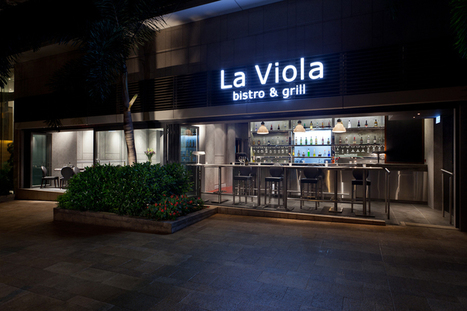 la viola restaurant bistro and grill by arboit architecture & design #inspiredbydesign | Inspired By Design | Scoop.it