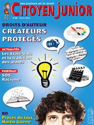Citoyen Junior février 2013 | La semaine de presse Louis Massignon | Scoop.it