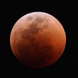 """""""L'ho vista"""". La Luna rossa impazza sulla rete   Planets, Stars, rockets and Space   Scoop.it"""