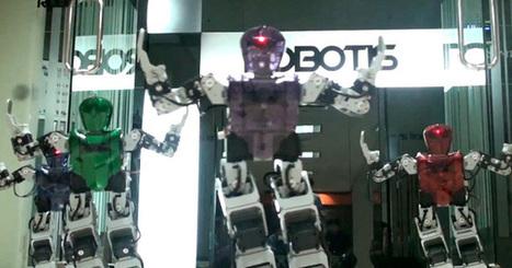 Des robots parodient le clip le plus vu de Youtube   Actualités robots et humanoïdes   Scoop.it