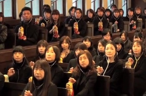 Beethoven's Ode to Joy Played With 167 Theremins Placed Inside Matryoshka Dolls in Japan | AP HUMAN GEOGRAPHY DIGITAL  STUDY: MIKE BUSARELLO | Scoop.it