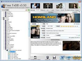 Free TvDB : un logiciel portable pour suivre ses séries préférées | Geeks | Scoop.it