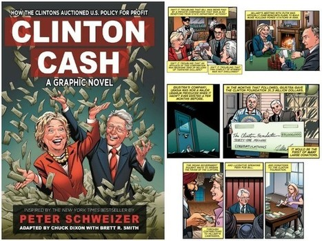 Comic Book Writer Chuck Dixon: 'Clinton Cash: A Graphic Novel' Details Clintons' 'Shocking Repeated Pattern of Outrages' | Comic Book Trends | Scoop.it