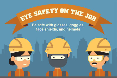 [Infographic] Eye Safety on the Job: Be Safe with Glasses, Goggles, Face Shields, and Helmets | Happiness At Work - Hppy Scoop | Scoop.it